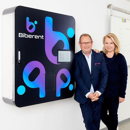 Der BibCooler ist die erste wirtschaftlich attraktive Automatenlösung für kleine und mittlere Betriebe.